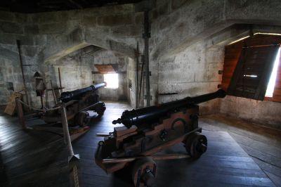 Kanonen im Pendennis Castle