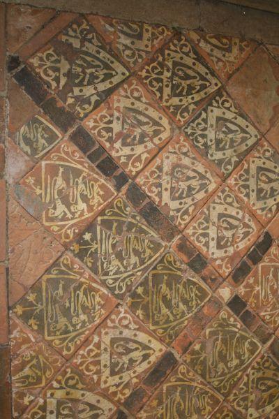 Fußboden in der Cleeve Abbey