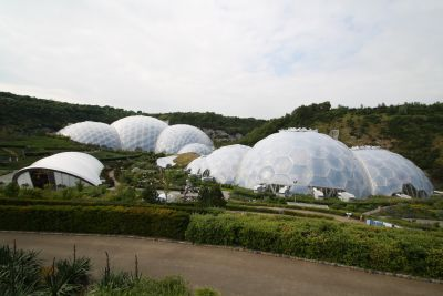 Eden Project - Glaskuppeln