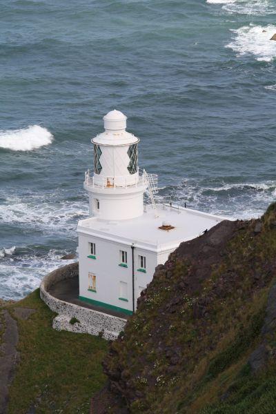 Leuchtturm Hartland Point