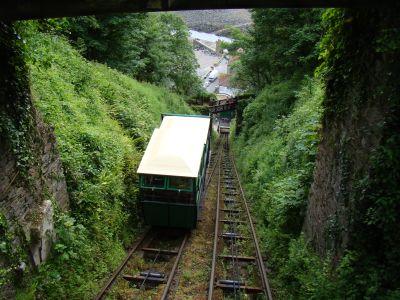 Bergbahn zwischen Lynmouth und Lynton